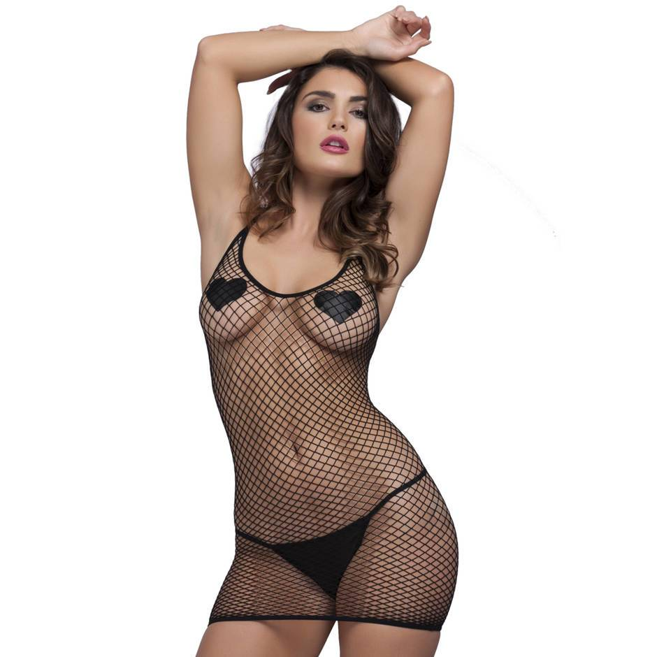 Lovehoney Fishnet Mini Dress