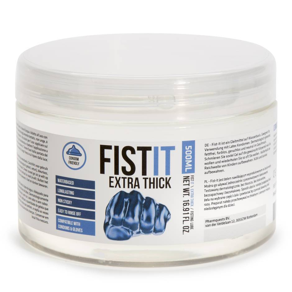 Fist-It Extra Thick Water-Based Anal Fisting Lubricant 500ml