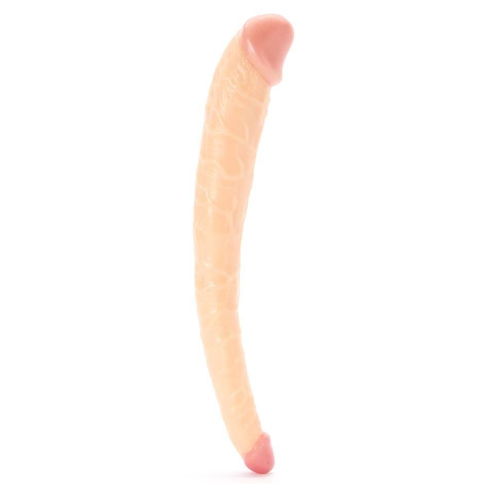 Hoodlum Tapered Realistic Double-Ended Dildo 11 Inch