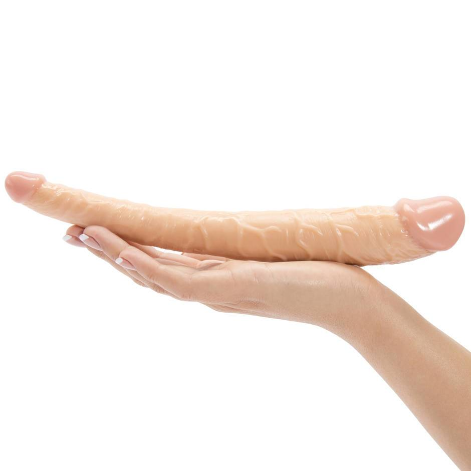 Hoodlum Tapered Realistic Double-Ended Dildo 11 Inch -2459