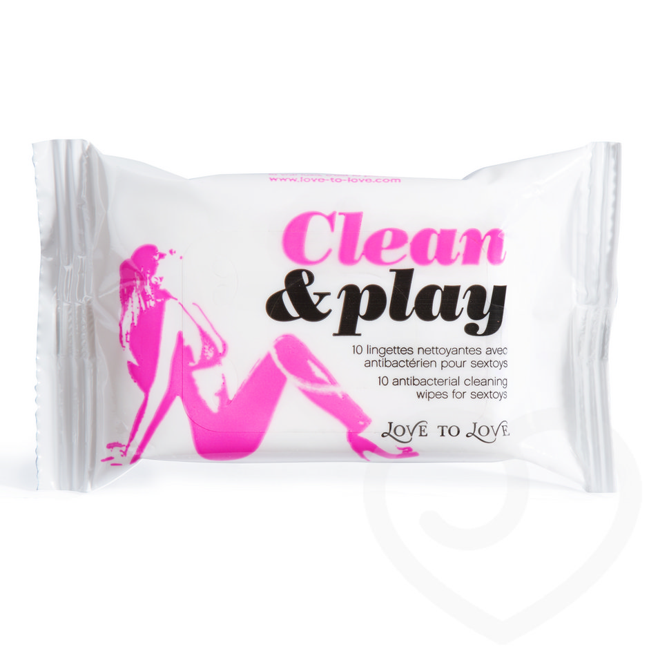 Love to Love Antibacterial Cleaning Wipes (10 Pack)