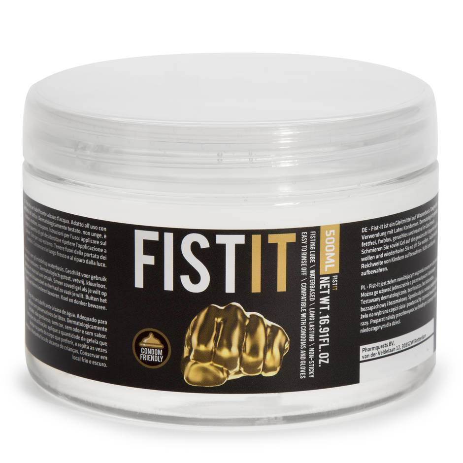 Lubrifiant fisting anal à base d'eau 500 ml, Fist-It