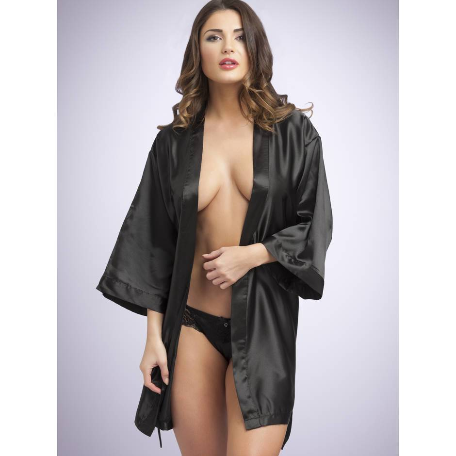 Lovehoney seidige Robe