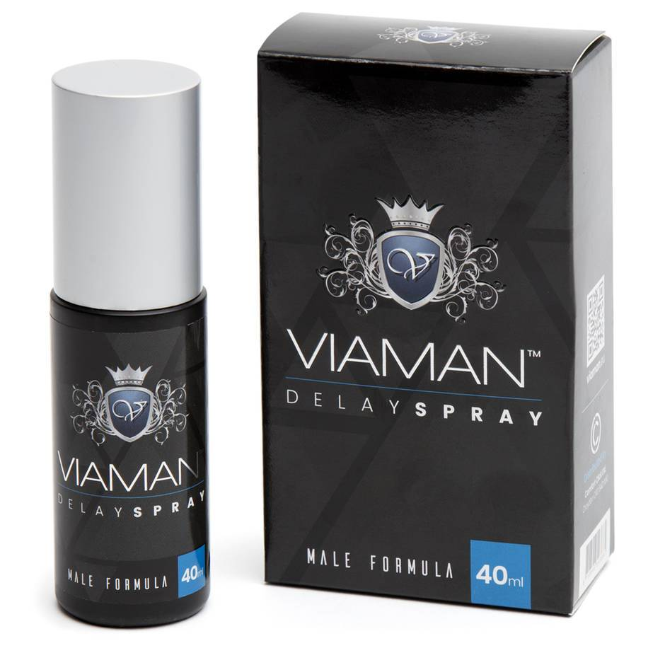 Viaman Delay Spray for Men 40ml