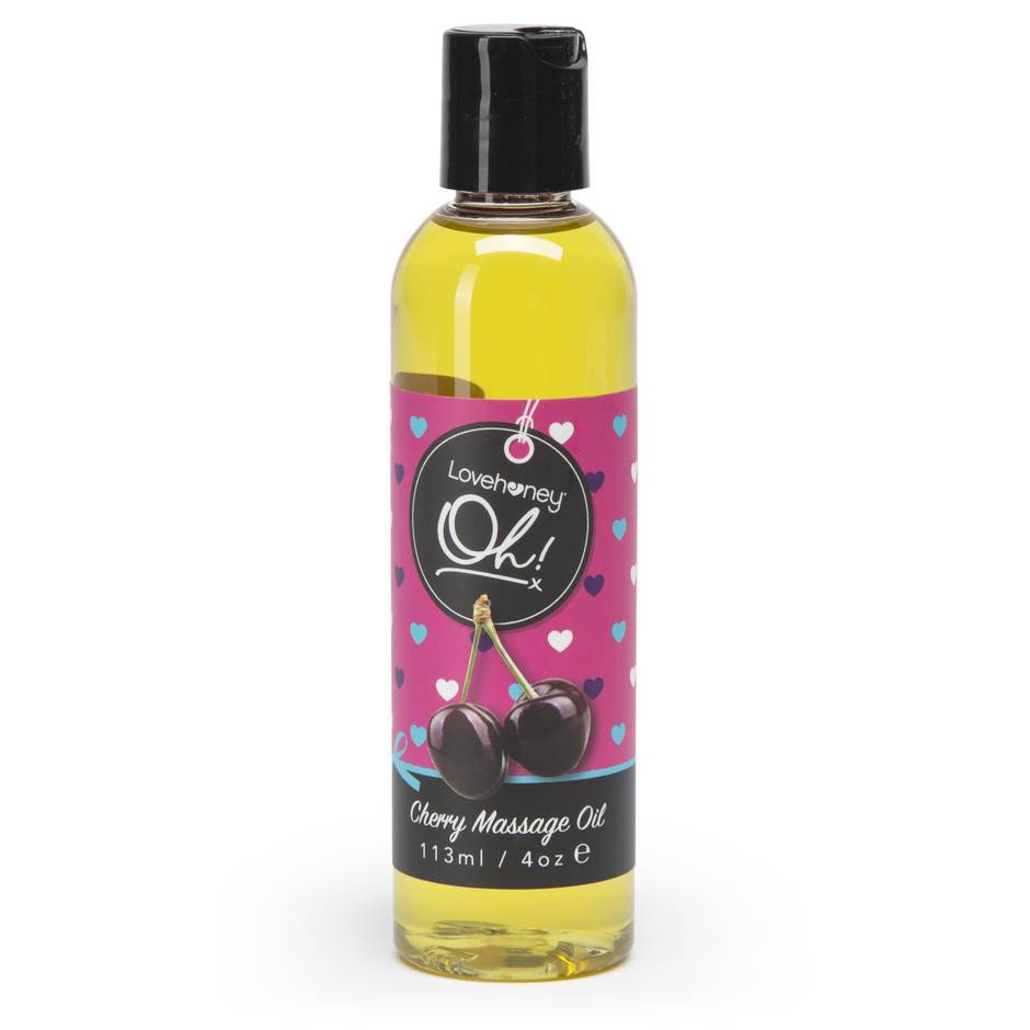Lovehoney Oh! Cherry Lickable Massage Oil 113ml
