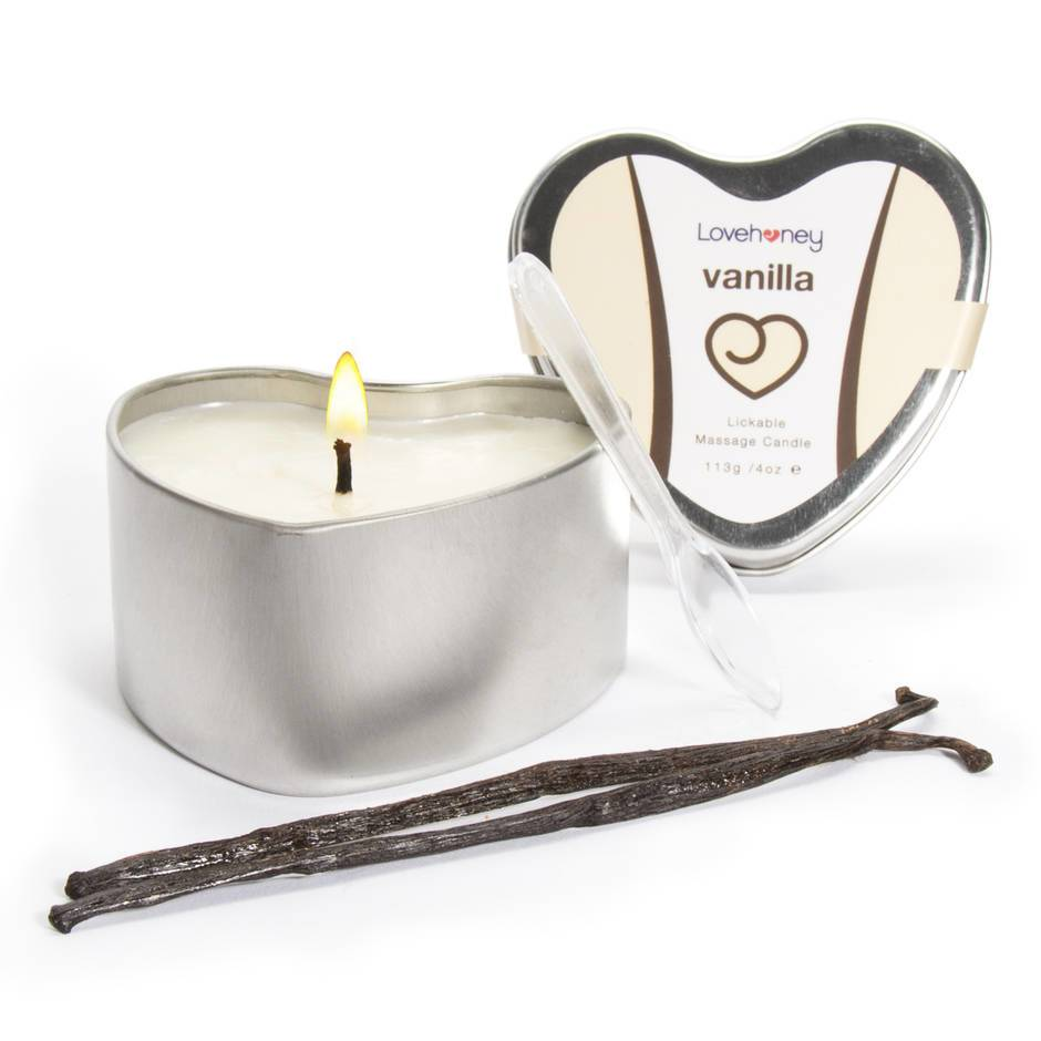 Lovehoney Oh! Vanilla Lickable Massage Candle 113g