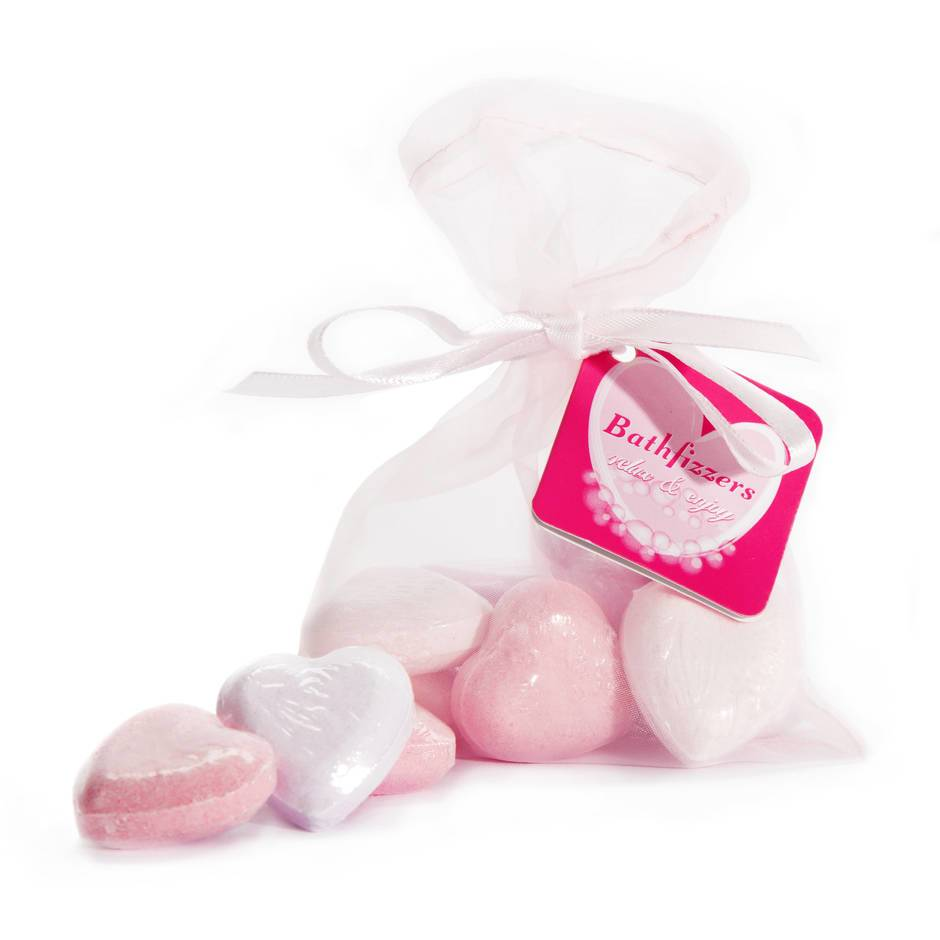 Bath Bomb Hearts (10 Pack)