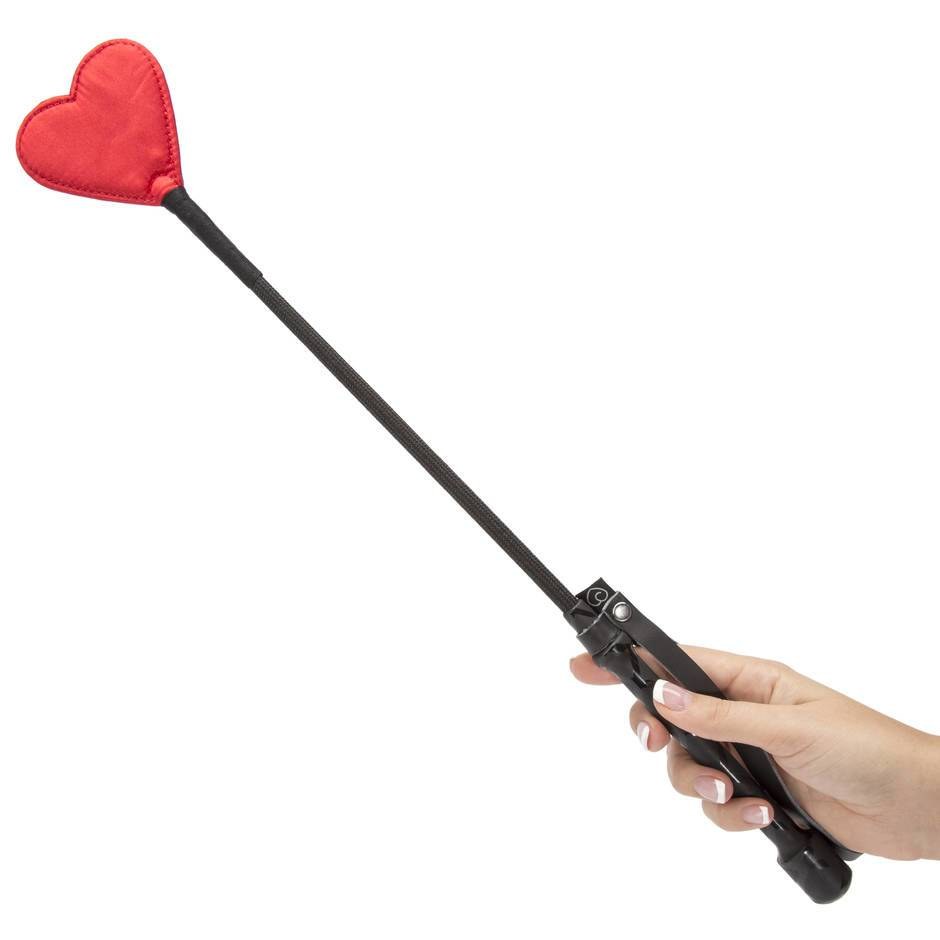Lovehoney Red Heart Riding Crop