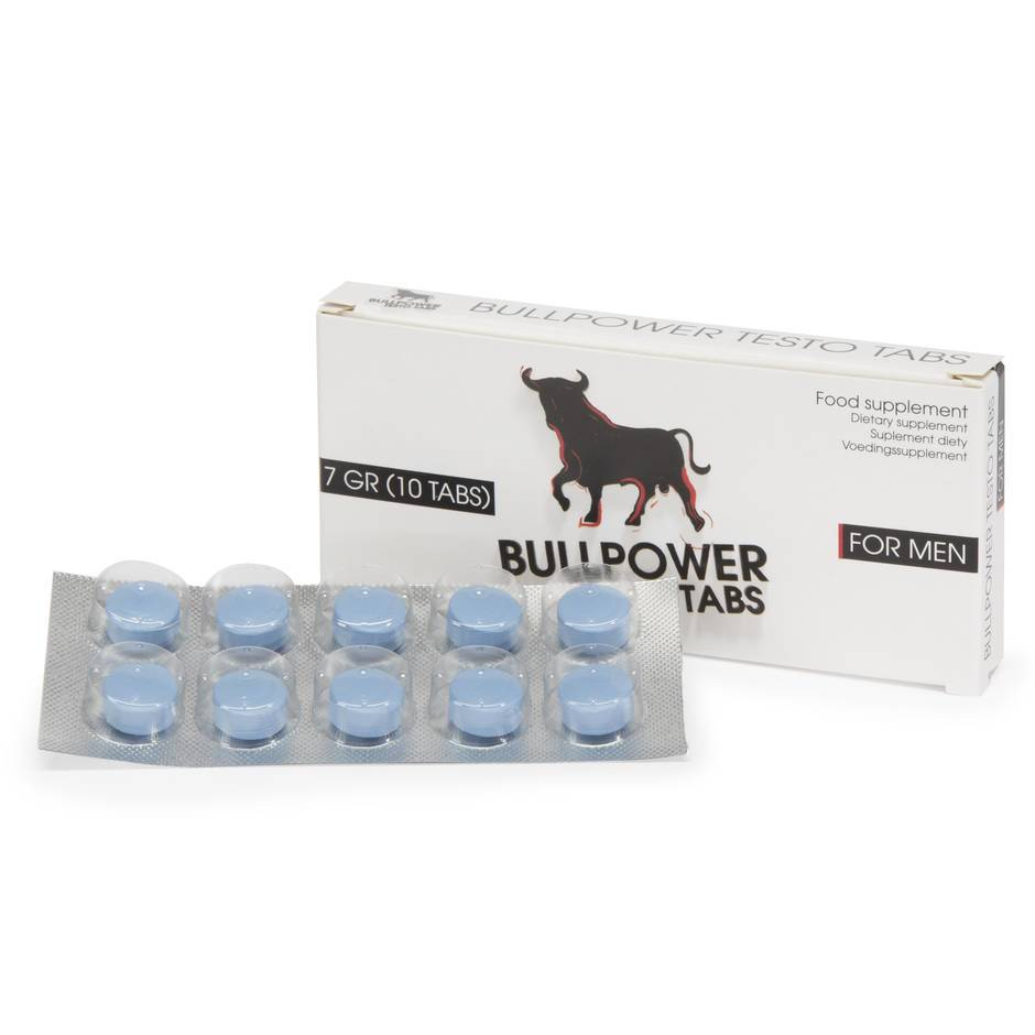 Bull Power Sexual Performance Pills for Men (10 Tablets)