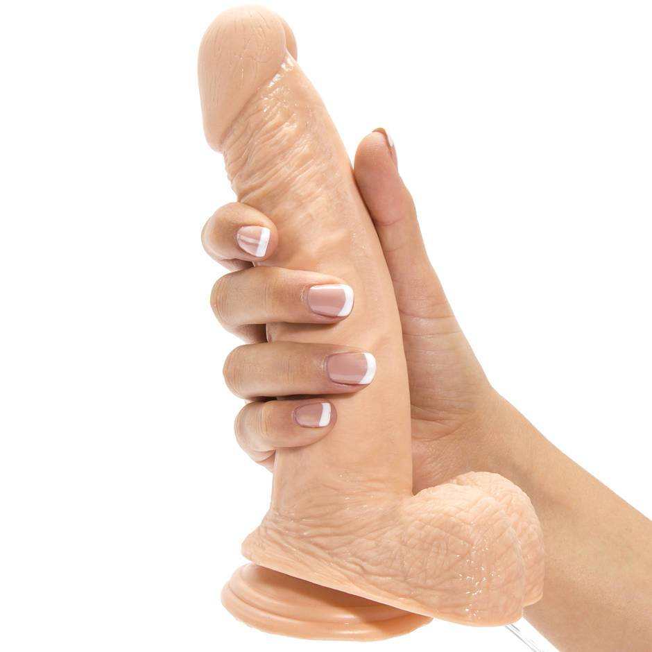 Realistic Dildo Vibrator With Suction Cup 7inch