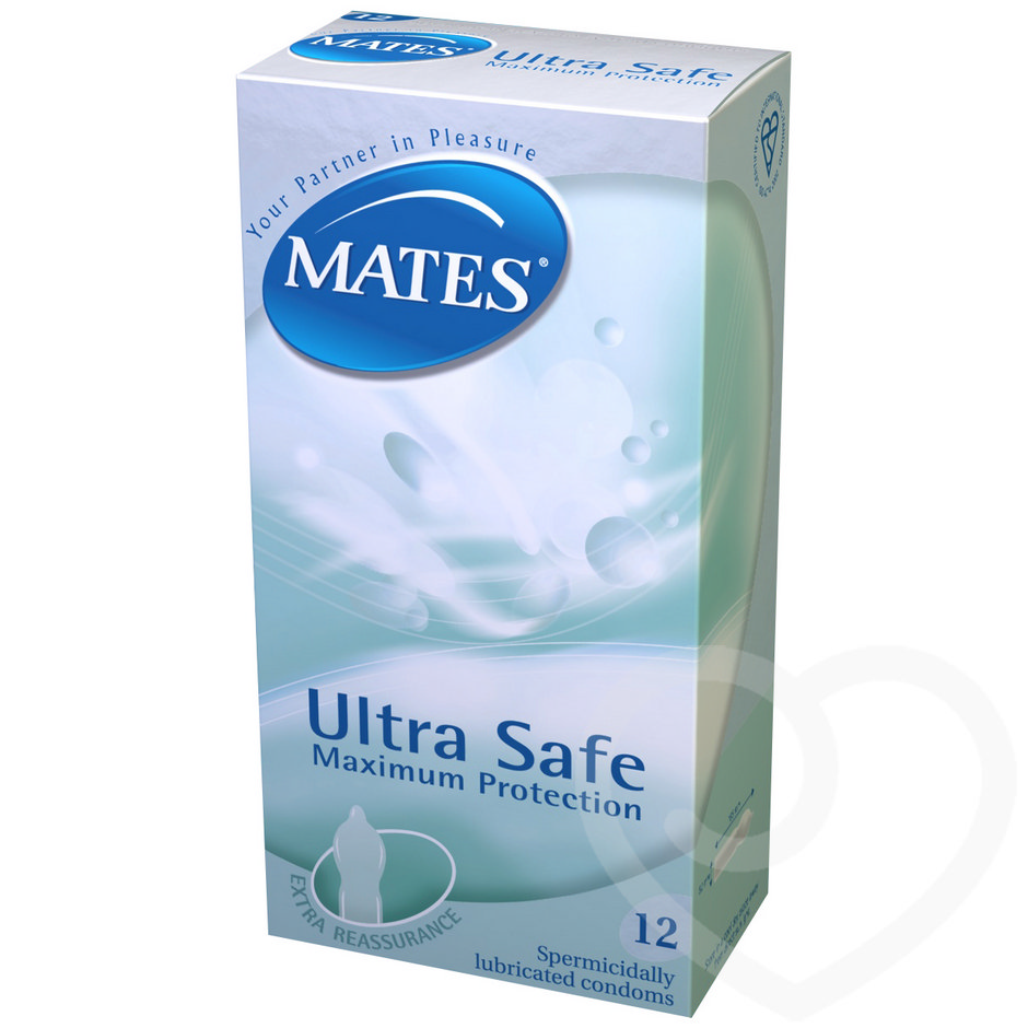 Mates Ultra Safe Condoms (12 Pack)