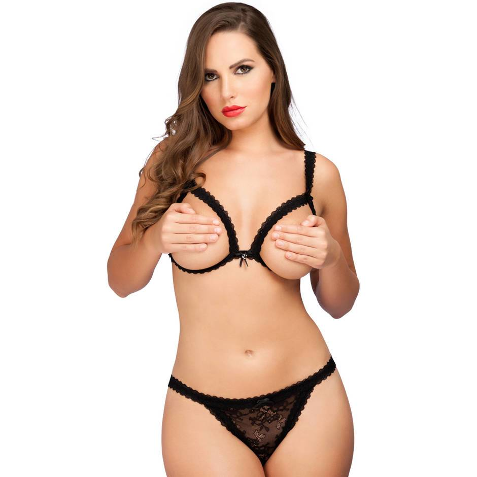Lovehoney Flaunt Me Ouvert-BH-Set