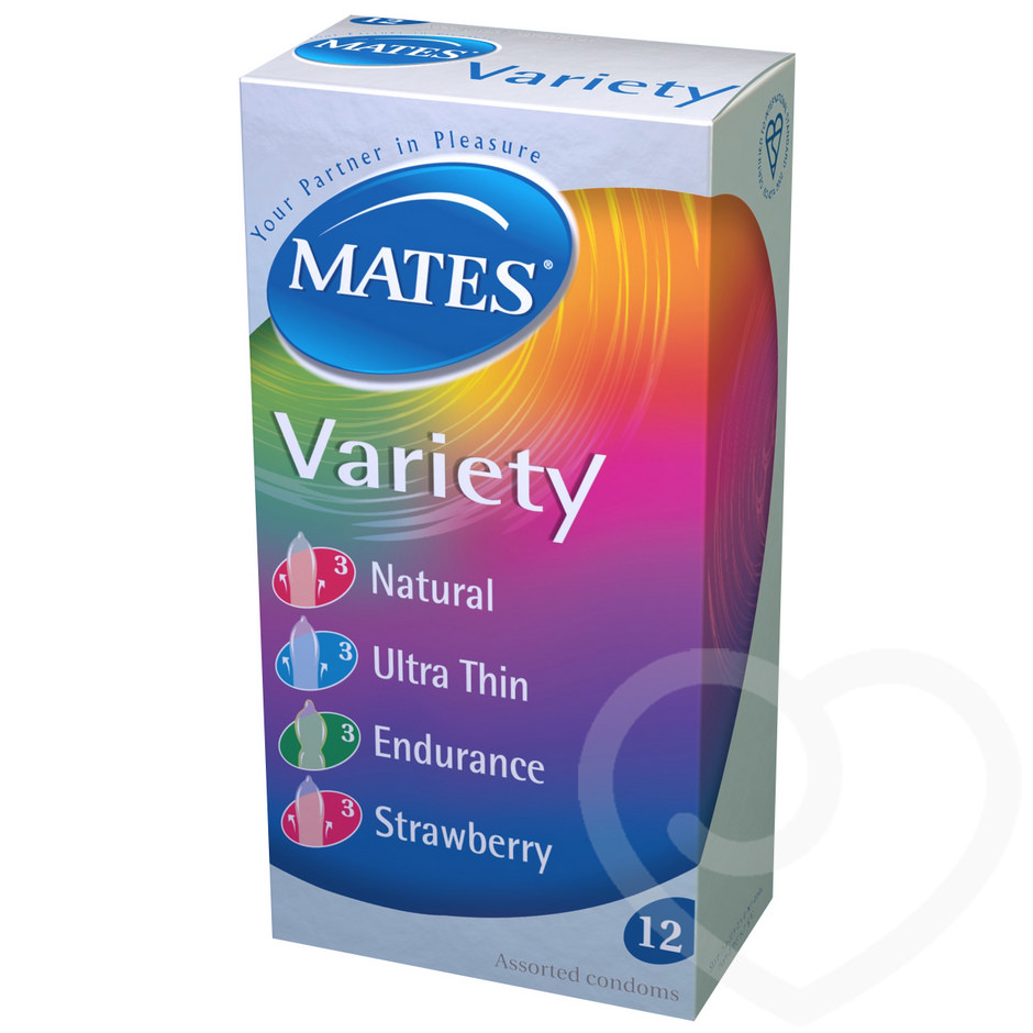 Mates Variety Condoms (12 Pack)