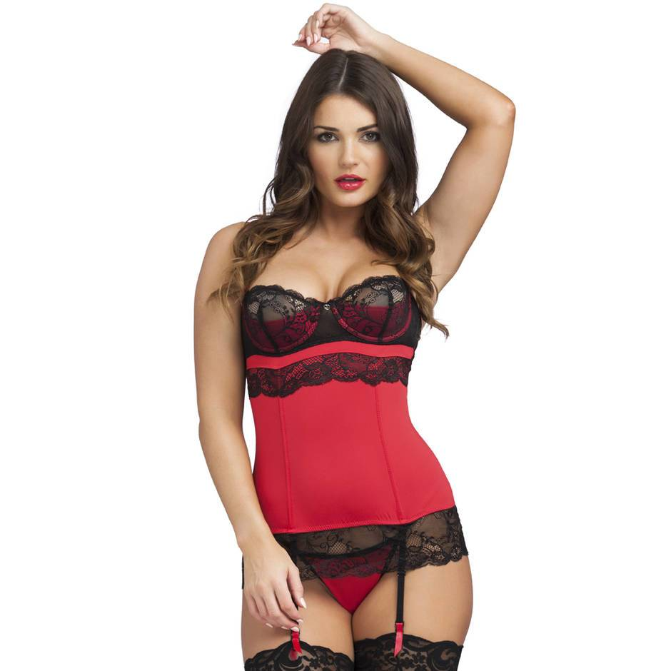 Lovehoney Adore Me Underwired Basque Set