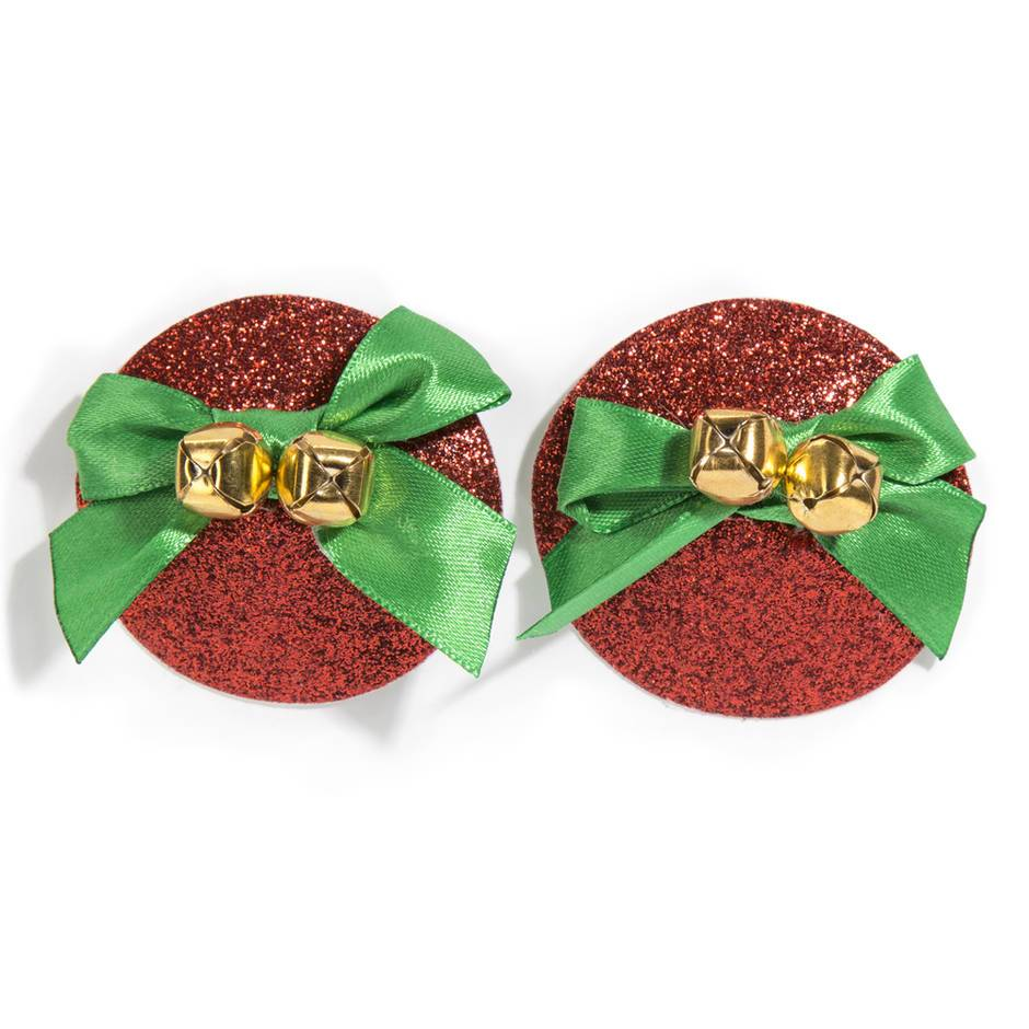Jingle Bells Christmas Nipple Pasties