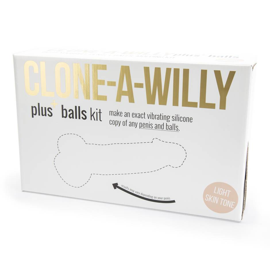 Clone-A-Willy and Balls Vibrator Moulding Kit