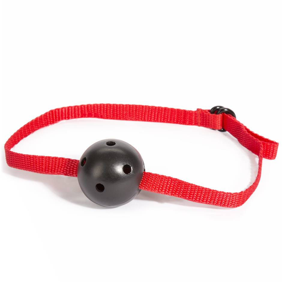 Bâillon-boule de bondage rouge Lovehoney BASICS
