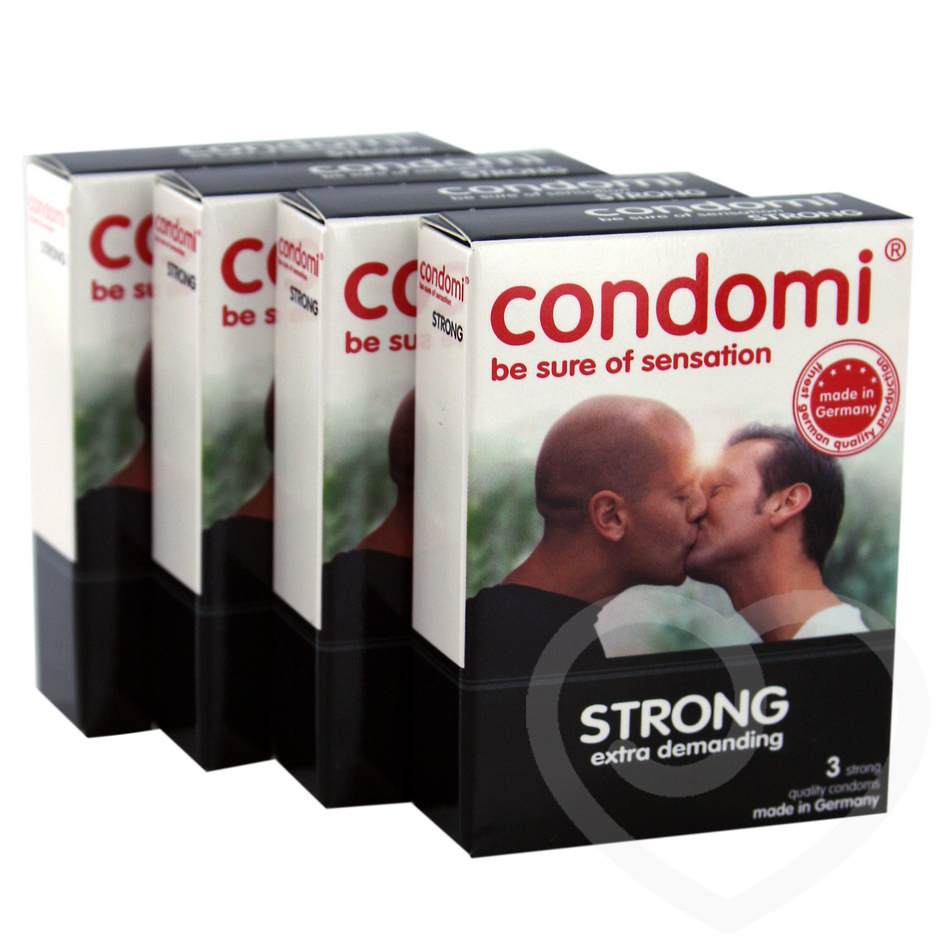 Condomi Strong Condoms (12 Pack)