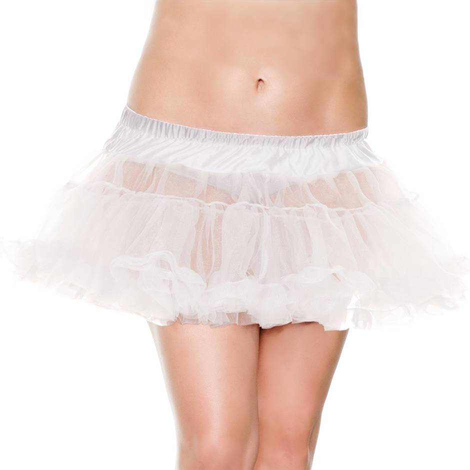 Music Legs Plus Size Petticoat