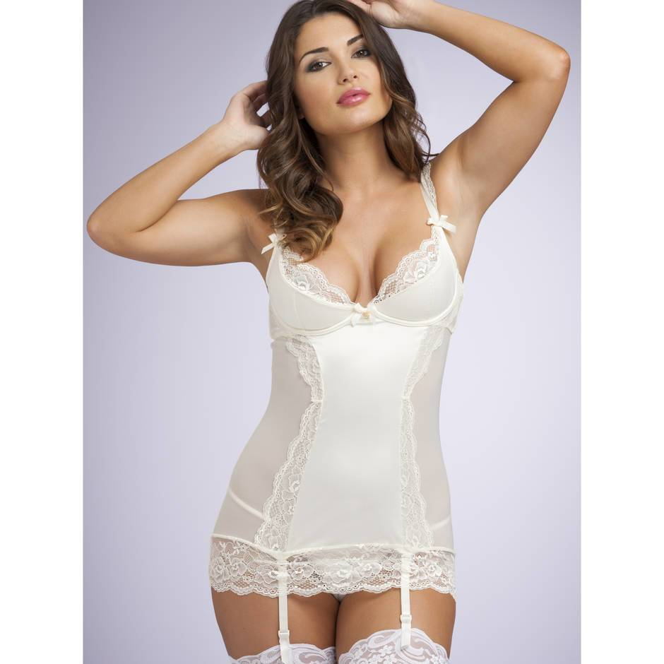 Lovehoney Cherish Me Underwired Chemise Set