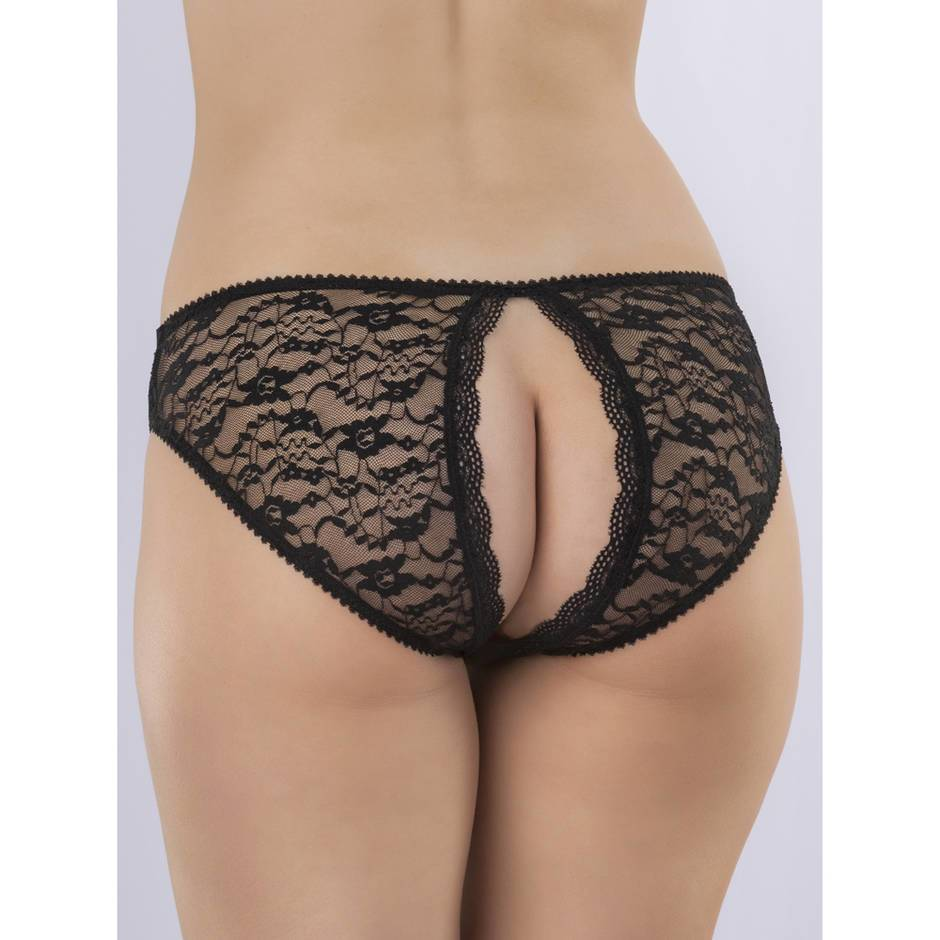 Lovehoney Lace Open-Back Briefs