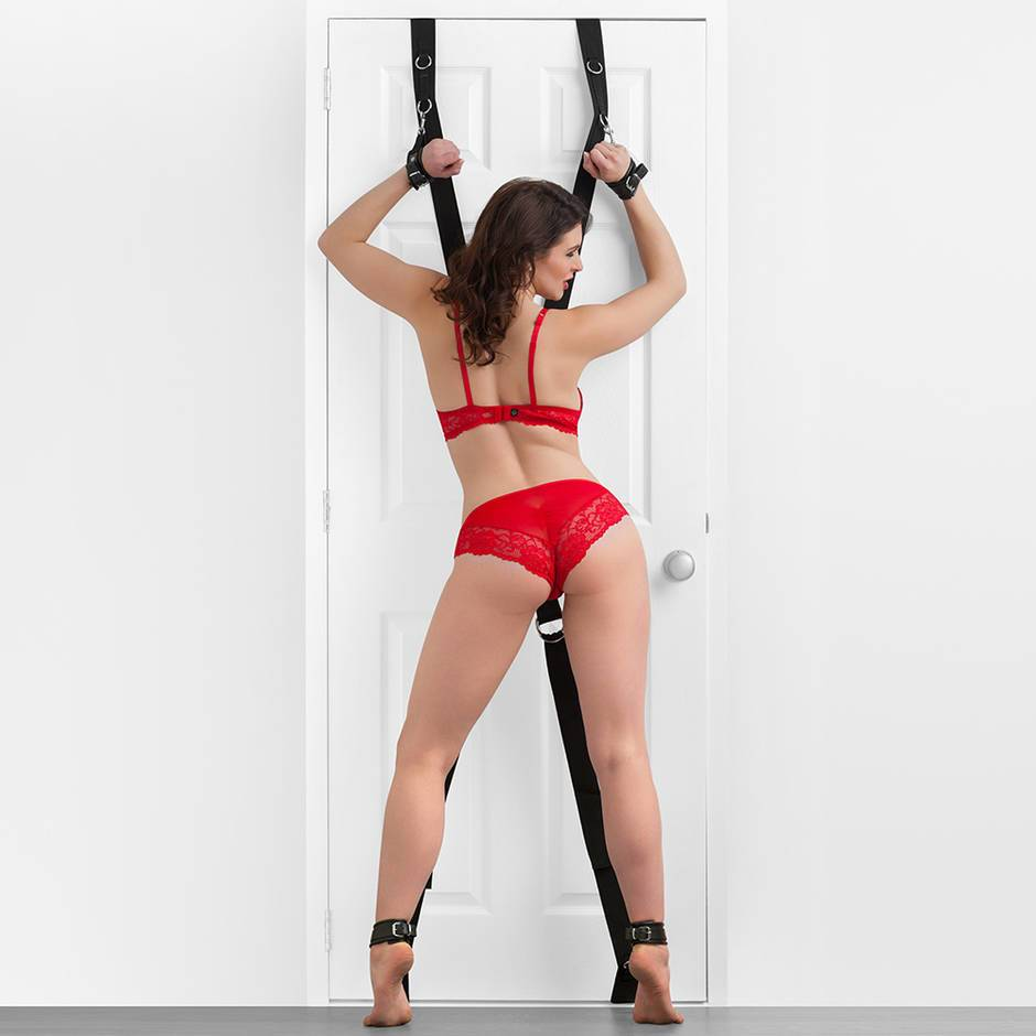 DOMINIX Deluxe Over the Door Cross Position Restraint