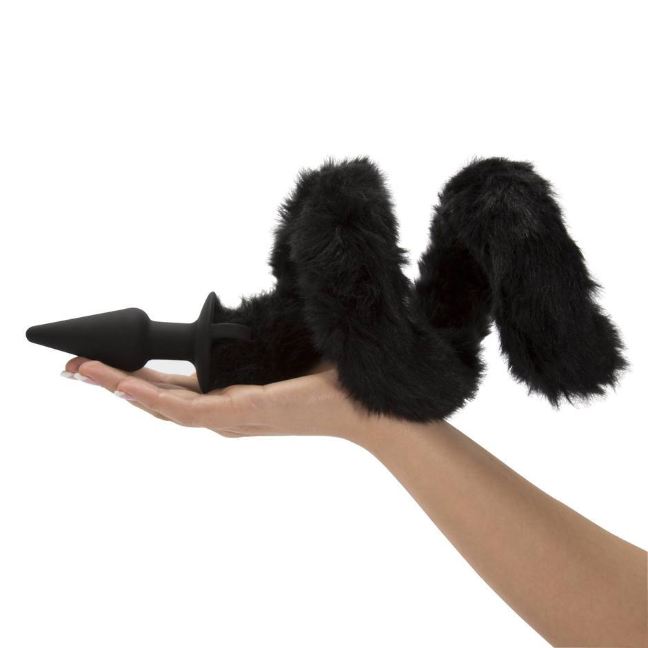 Frisky Faux Fur Cat Tail Silicone Butt Plug  Lovehoney-1511