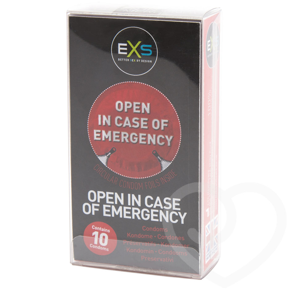 EXS Open in Case Of Emergency Condoms (10 Pack)
