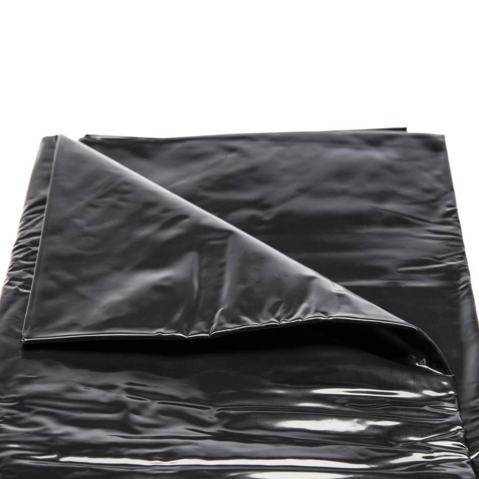 drap de lit plat king size en vinyle deluxe par dominix meubles rotiques et de positionnement. Black Bedroom Furniture Sets. Home Design Ideas