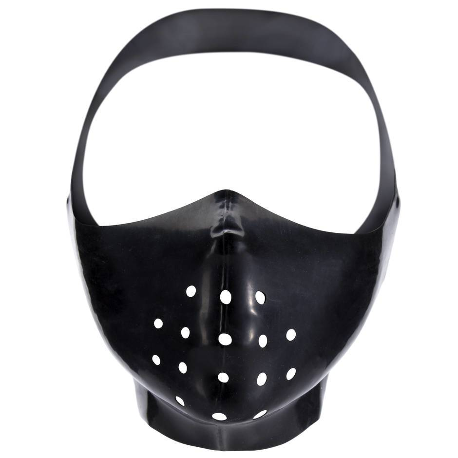 Renegade Rubber Latex Gimp Mask Muzzle