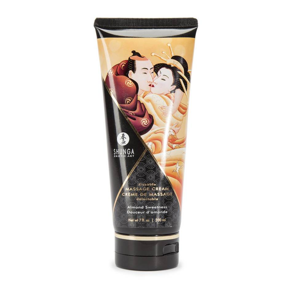Shunga Almond Sweetness Kissable Massage Cream 7 fl. oz