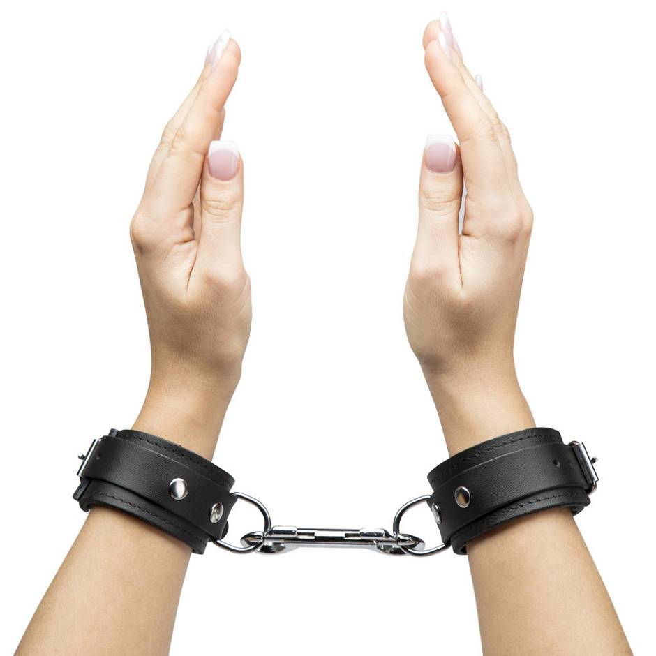 Bondage Boutique Soft Leather Handcuffs