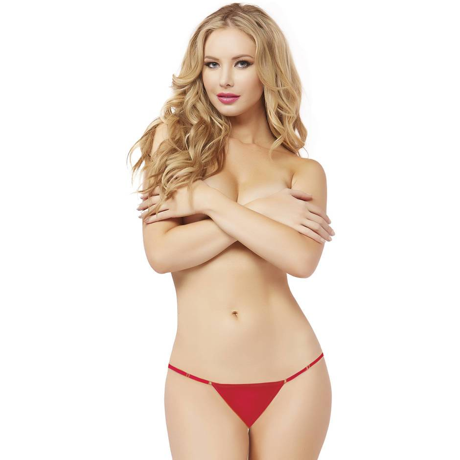 Seven 'til Midnight Adjustable Mesh Thong