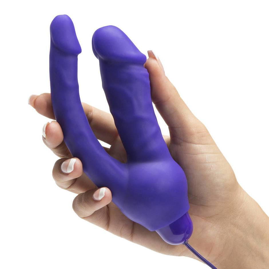 Opinion double dildo silicone