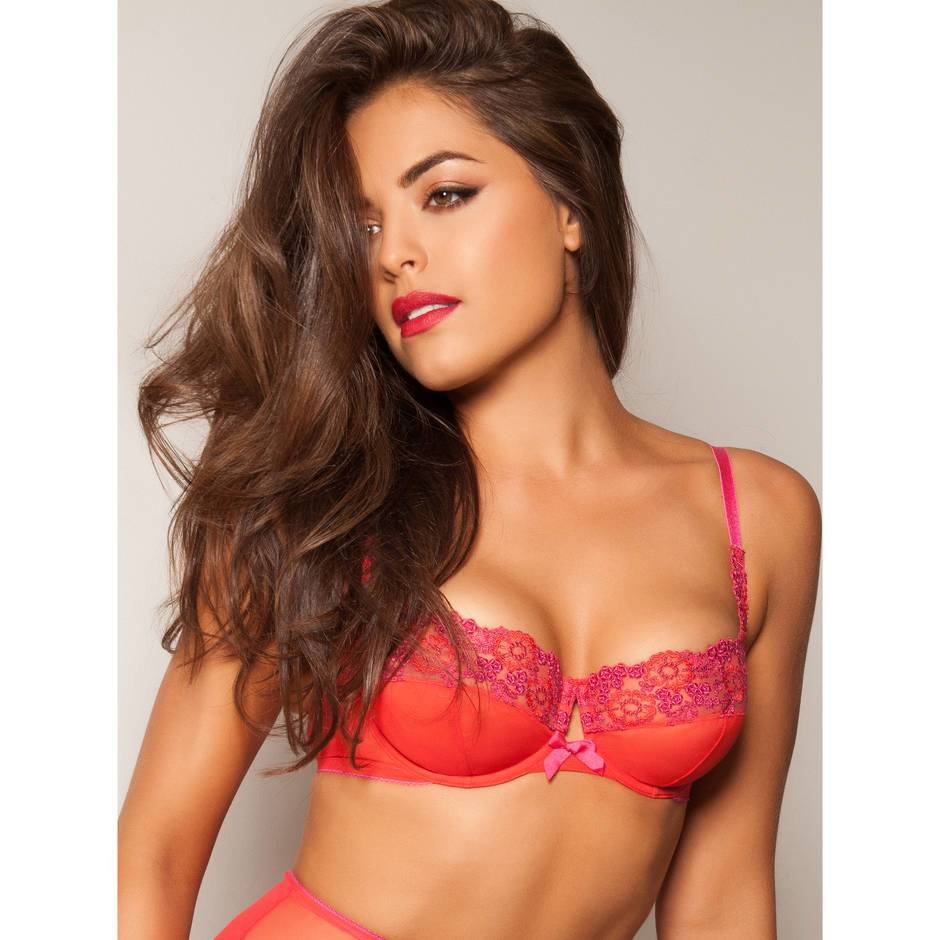 Gossard VIP Amour Red Hot Balconette Bra