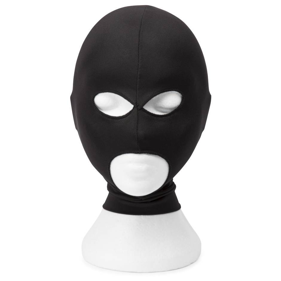 Bondage Boutique Open Eye and Mouth Spandex Hood