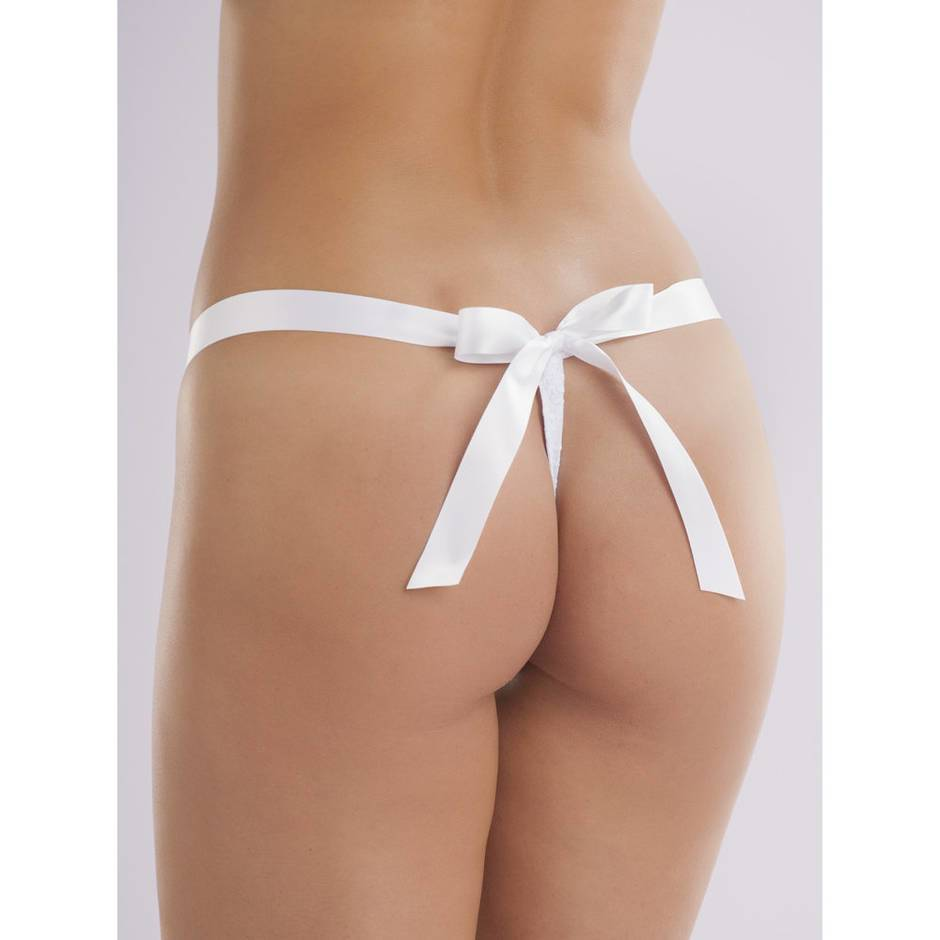 Lovehoney Unwrap Me Women's White Thong