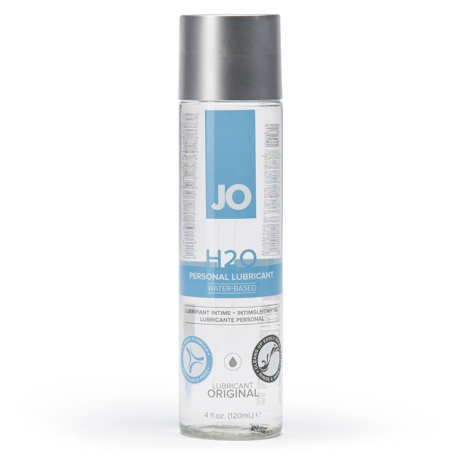 System JO H2O Water-Based Lubricant 4oz