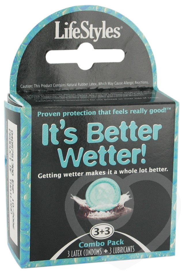 Lifestyles Better Wetter Condoms and Lube