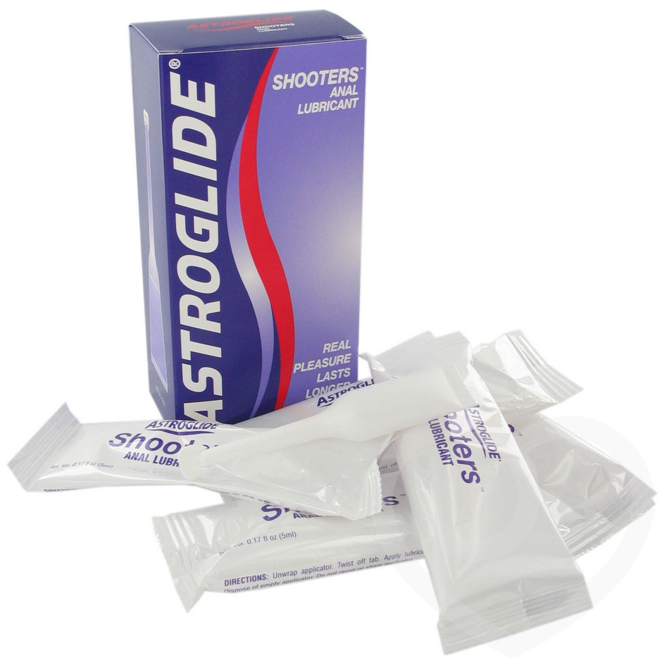 Astroglide anal lube lubricant shooter