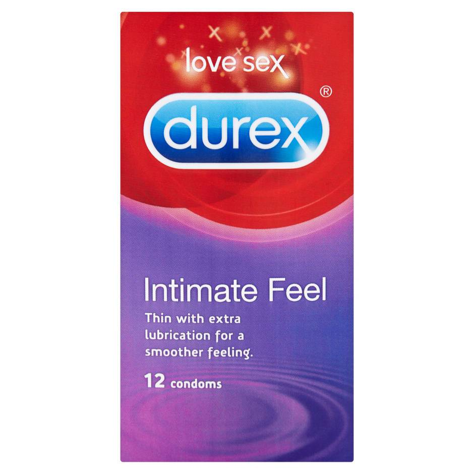 Durex Intimate Feel Extra Lubricated Condoms (12 Pack)