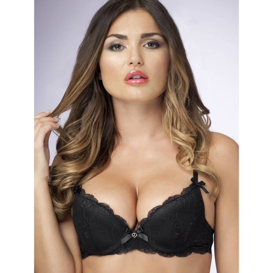 Lovehoney Love Me Lace Push-Up Bra