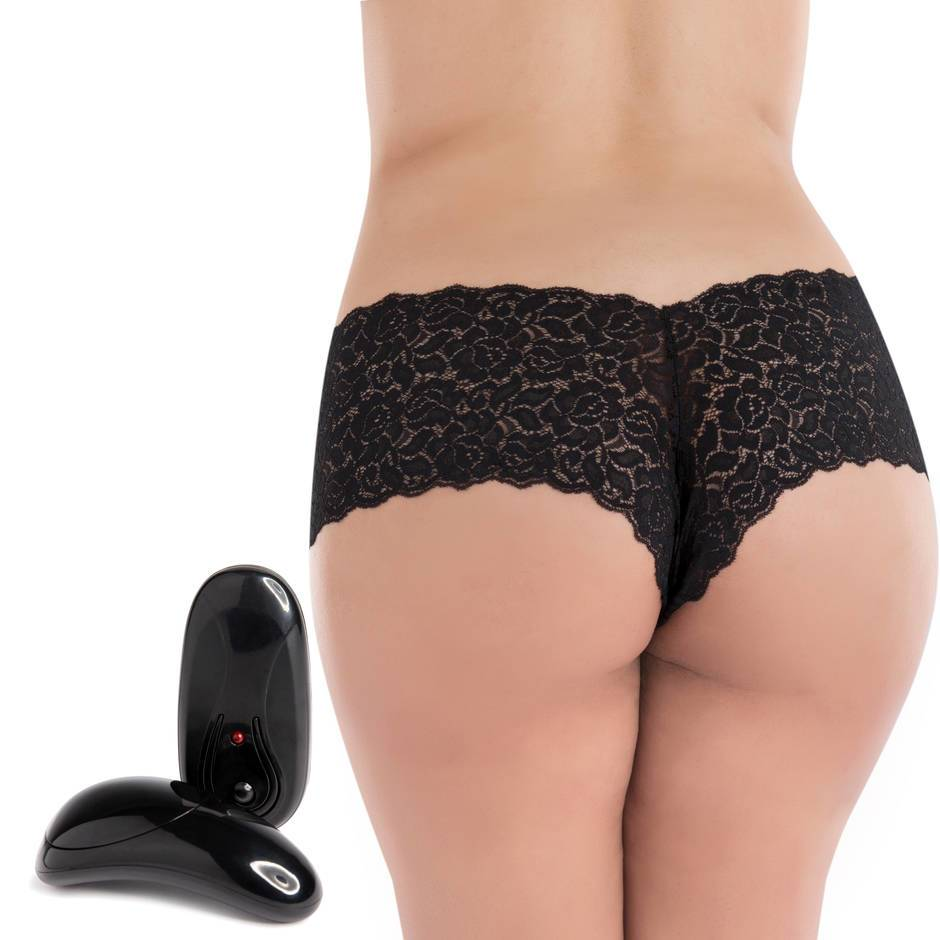 Secrets Plus Size Remote Control 5 Function Vibrating Knickers