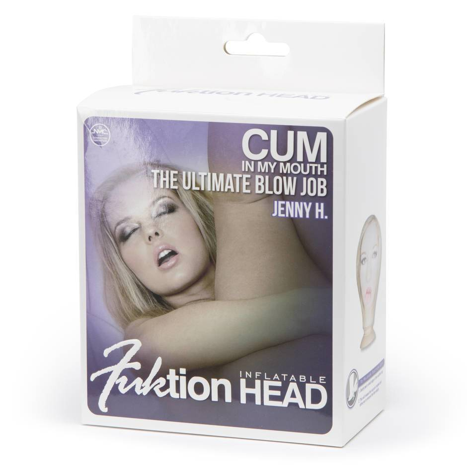Bob-a-Knob Inflatable Blow Job Head with Suction Cup
