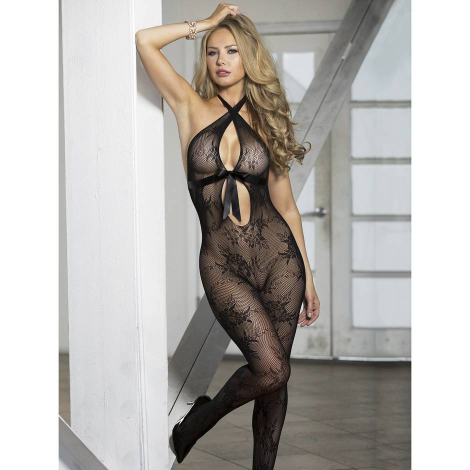 Shirley of Hollywood Ouvert-Bodystocking