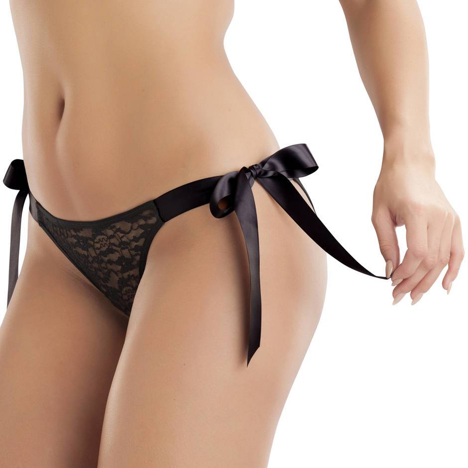 Lovehoney Unwrap Me Tie-Side Lace Briefs