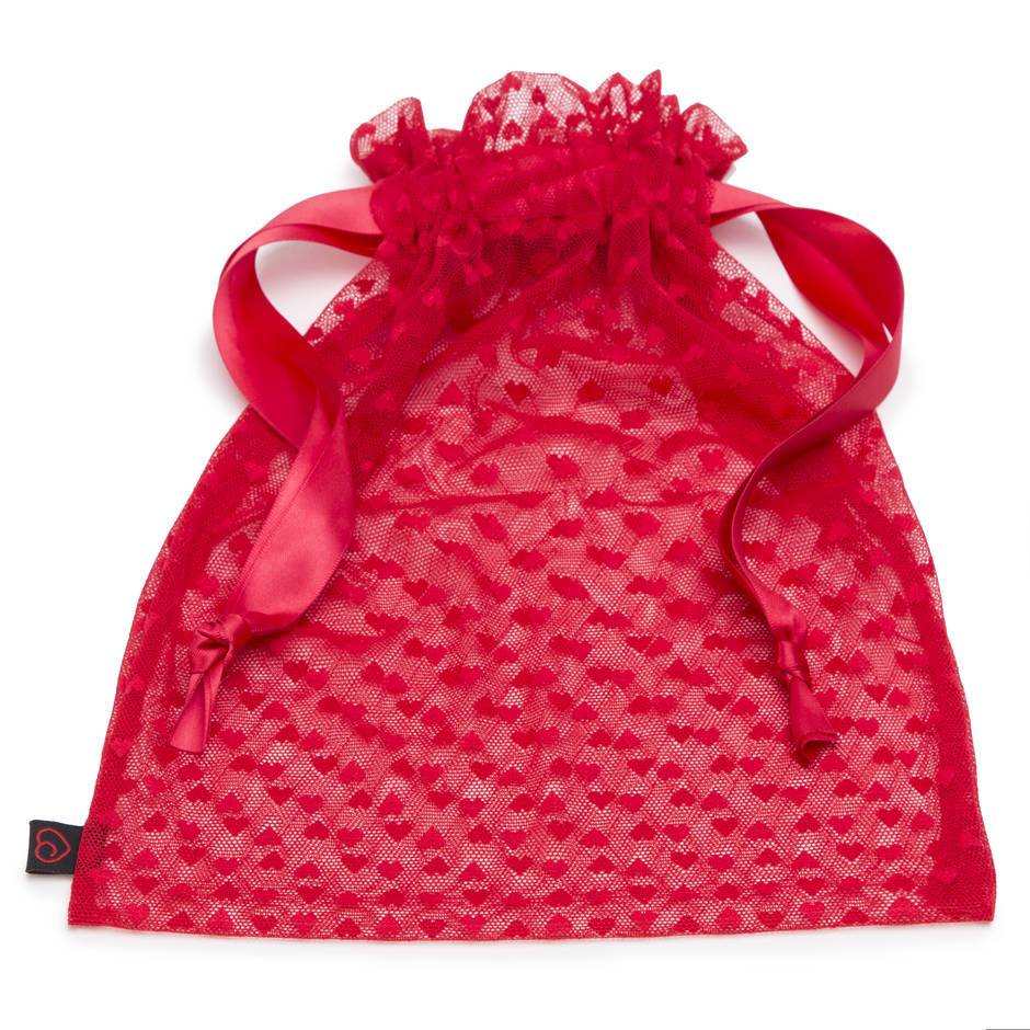 Lovehoney Heart Mesh Lingerie Gift Bag