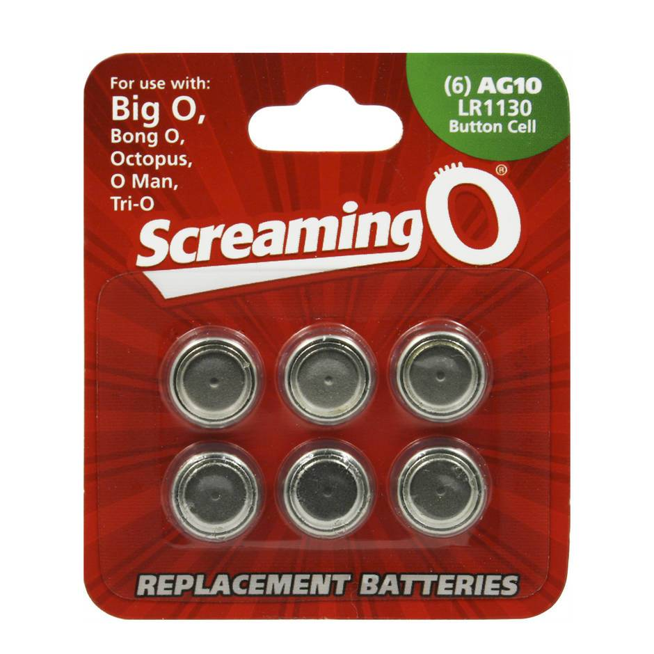 Screaming O LR54 Batteries (6 Pack)