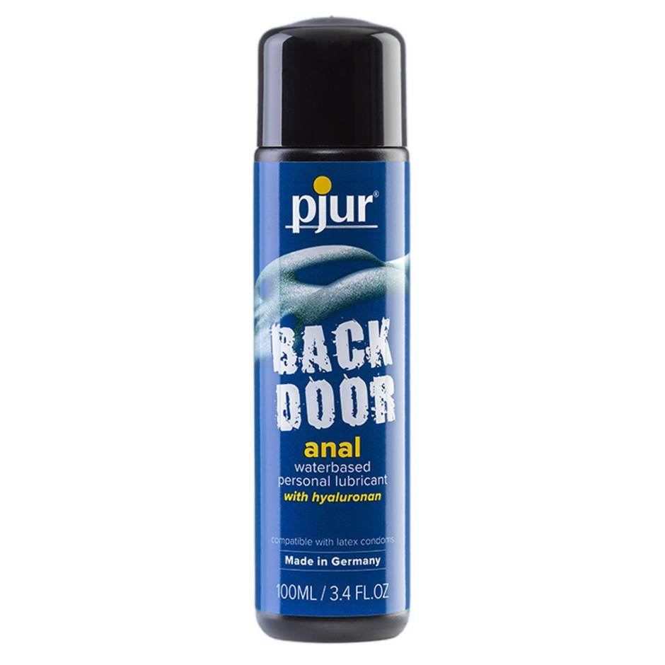 pjur Back Door Water-Based Anal Lubricant 3.4 fl. oz