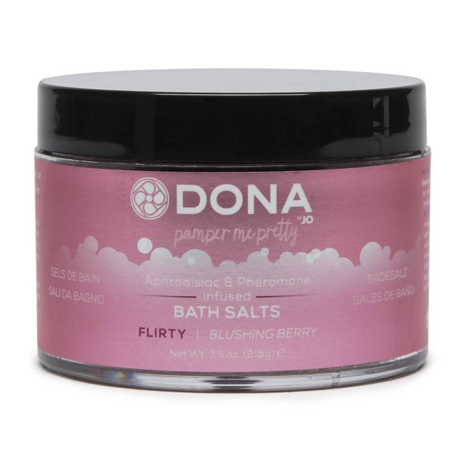 DONA Flirty Aphrodisiac & Pheromone Infused Bath Salts 215g
